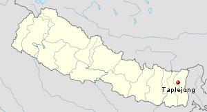 150taplejung_map_nepal