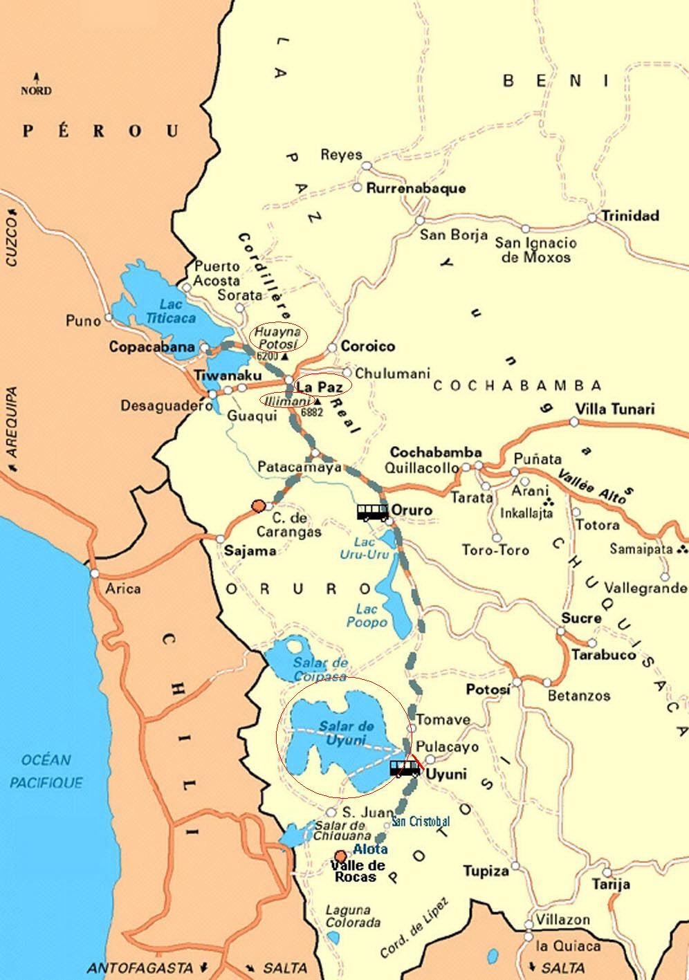 Boliwia Wulkany Illimani 6438 Mnpm Huyana Potosi 6088