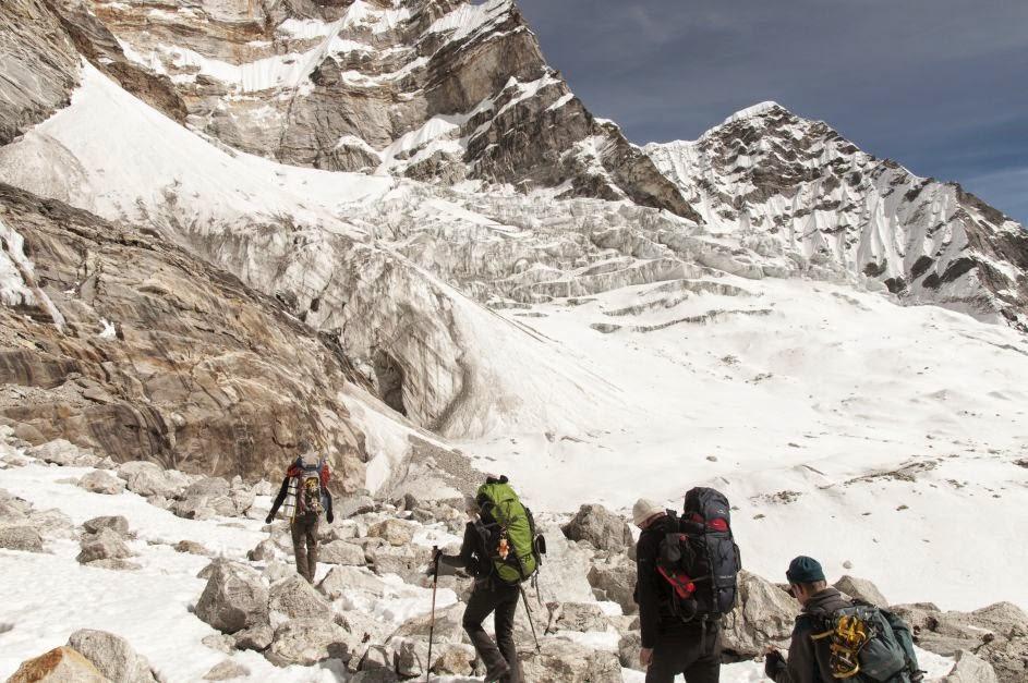 Wyprawa Nepal: Dolina Rolwaling. Podejście na przełęcz Tashi Lapcha 5750 mnpm