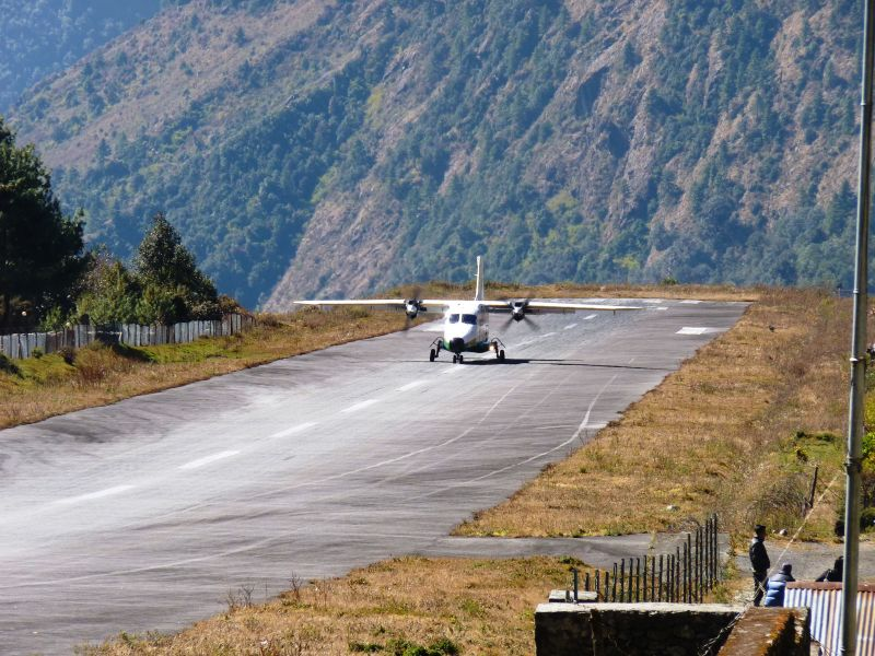 Tara Air Nepal – Monopol na loty do Lukli :(