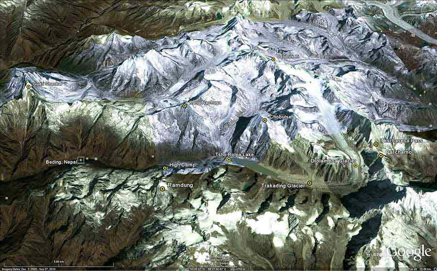 rolwaling-valley-google-earth