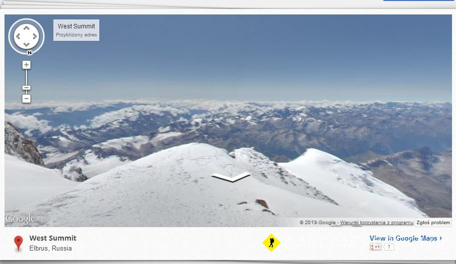 Google Earth: Khumbu & Elbrus